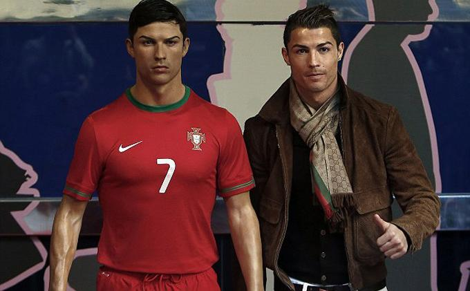 Ronaldo Senang Akhirnya Ada Patung Lilin yang Mirip Dirinya -  Tribunnews.com Mobile