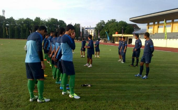 Tahapan Latihan Teknik Timnas U-19 di Yogjakarta