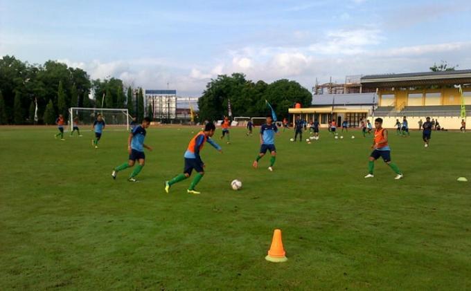 Babak Pertama Internal Game Timnas U-19 Berakhir Imbang 1-1