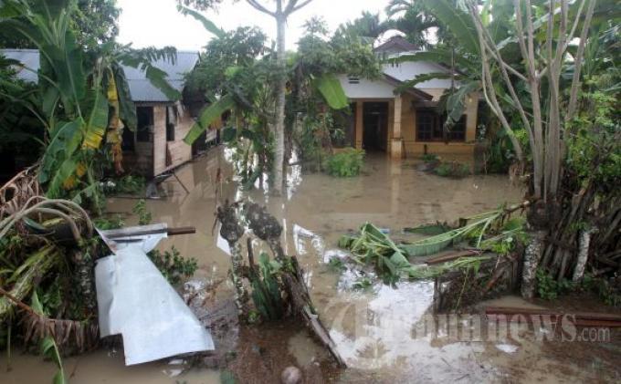 Korban Banjir di Aceh Jaya Butuh Sembako