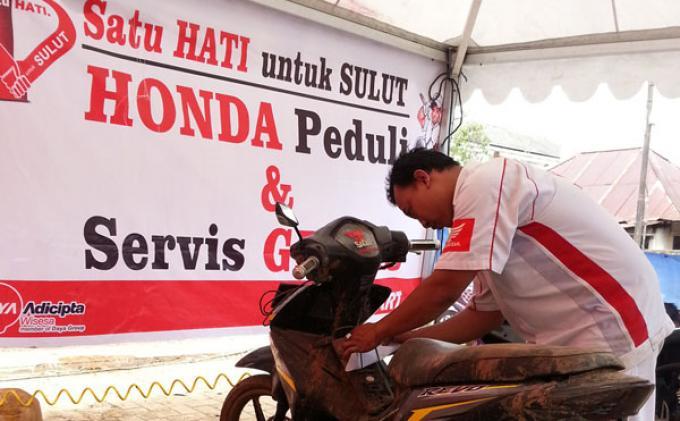 Honda Gelar Program Peduli Banjir Pulau Jawa dan Manado