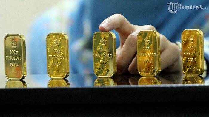 Harga Emas Antam Masih Bertahan di Level Rp 599 Ribu Per Gram
