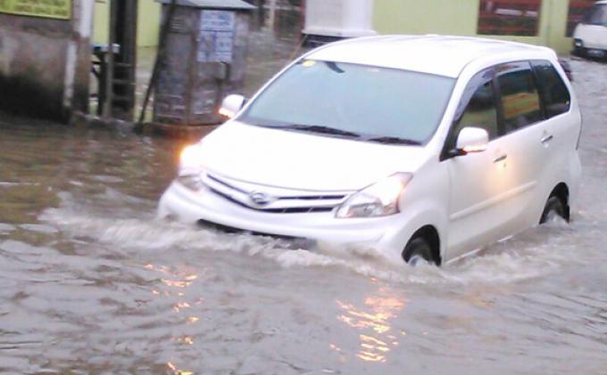 Ini Titik Banjir Akibat Hujan Lebat di Jakarta