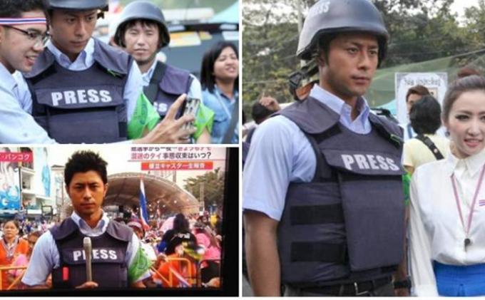 Jurnalis Tampan dari Jepang
