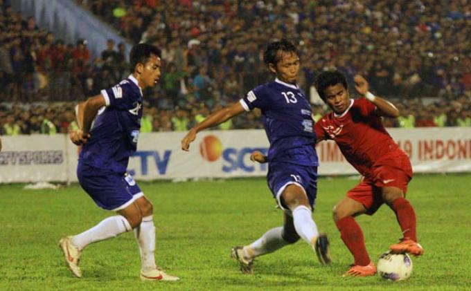 Laga Timnas U19 Diawali Mengheningkan Cipta untuk Korban Letusan Kelud