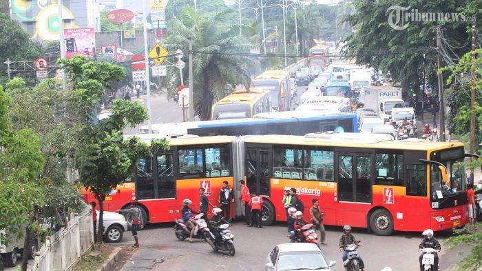 Pengalihan Rute Transjakarta Saat Pelantikan Jokowi
