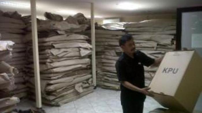 700.000 Surat Suara Sudah Tiba di KPU Jakarta Selatan