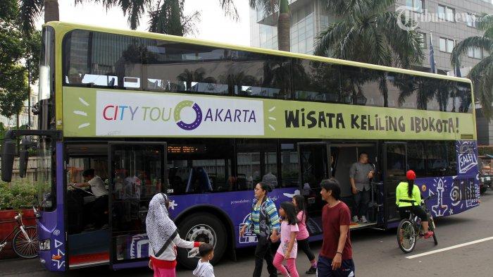 Ini Sebutan Unik Pengemudi Bus City Tour Jakarta