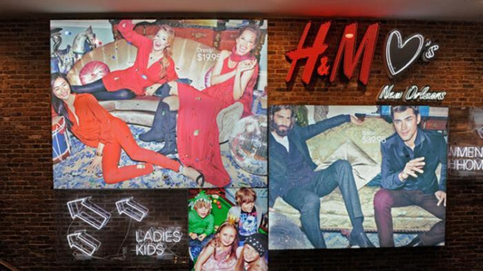 Toko Flagship H&M di New Orleans, Amerika