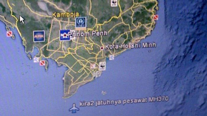 Pasangan Suami Istri di Bogor Ini Tahu Lokasi Jatuhnya Malaysia Airlines