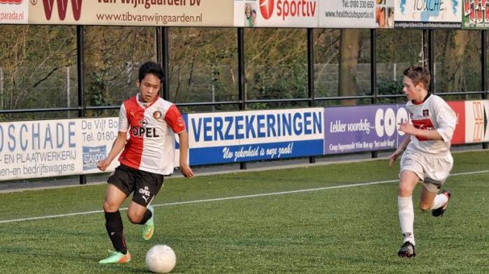 Cuitan Dibalas Kaesang, Striker Liga Belanda Yussa Nugraha Merapat ke Persis Solo?