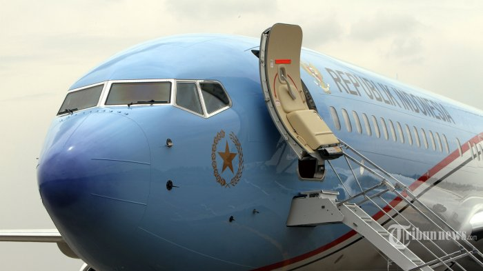 Mensesneg: Kehadiran Pesawat Kepresidenan Sejarah Baru ...