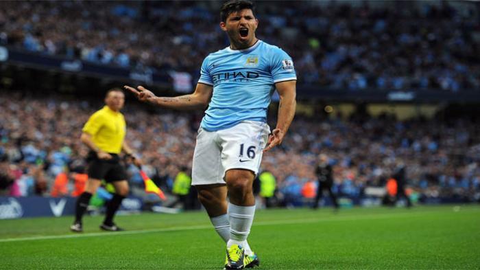 Jelang Liverpool Vs Manchester City: Sergio Aguero Siap Turun