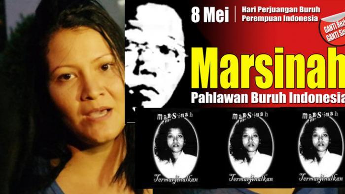 Artis Melanie Subono Gelar Aksi Teaterikal di Makam Marsinah