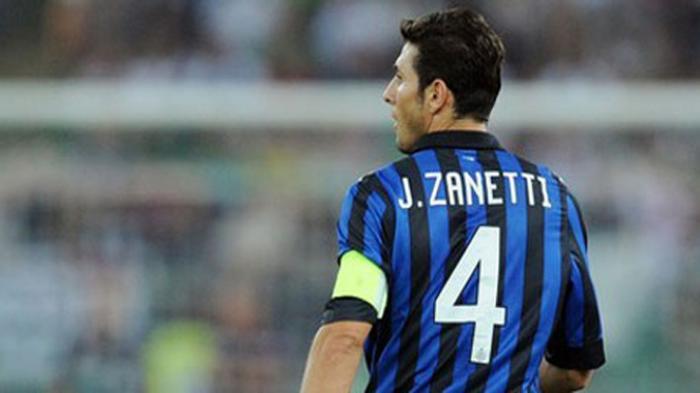 Inter Milan akan Pensiunkan Seragam Nomor 4 Javier Zanetti? -  Tribunnews.com Mobile