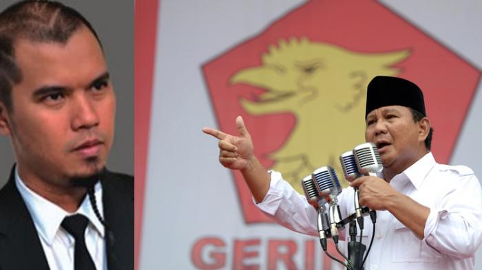 Ditunjuk Jadi Wasekjen Partai Gerindra, Begini Pandangan Ahmad Dhani Tentang Sosok Prabowo