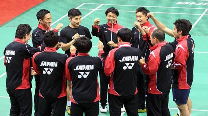 Tim Thomas Cup Jepang