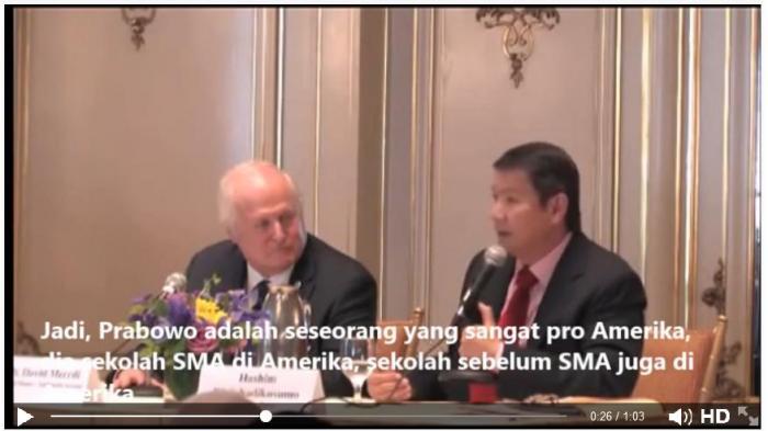 Video Pidato Hashim Bahwa Prabowo Pro-Amerika Terus Beredar di Sosial Media