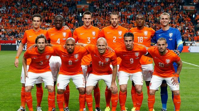 Susunan Pemain Belanda VS Islandia - Tribunnews.com