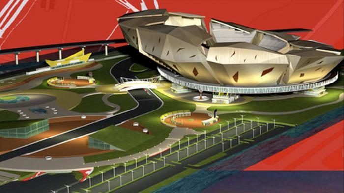 Maket Stadion Taman BMW