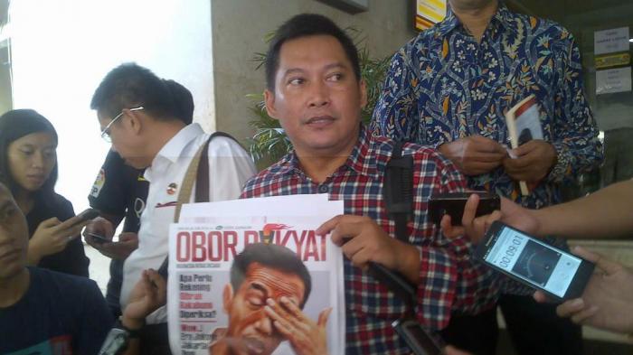 Tabloid Obor Rakyat Disebar Percetakan Muchlis Hasyim di Bandung
