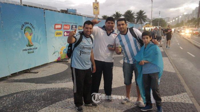 Suporter Argentina Terpaksa Jual Tiket Semi Final karena Rugi Besar