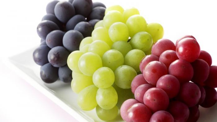 4 Manfaat Konsumsi Buah Anggur Setiap Hari