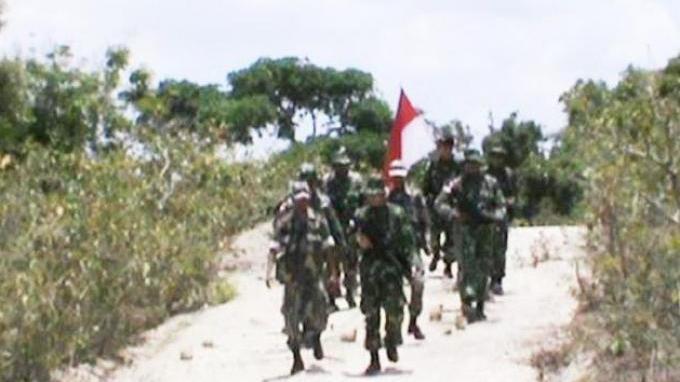 Perangi Narkoba Lintas Negara, Ratusan Prajurit Ditugaskan di Perbatasan Kalimantan
