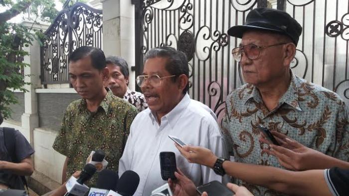 Sambangi Rumah Hamzah Haz, Senior PPP Desak Pelengseran SDA