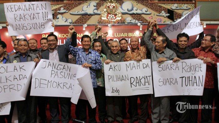 Persekutuan Gereja-gereja di Indonesia Tolak Pilkada Lewat Dewan - Tribunnews.com
