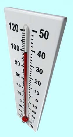 Alat pengukur  suhu  termometer