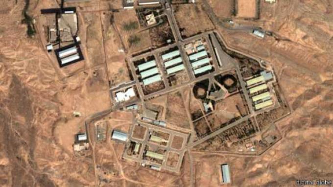 Ilustrasi Lokasi Nuklir Iran. Islamic Revolutionary Guard Corps (Korps Garda Revolusi Islam/IRGC) menyebut pembunuhan ilmuwan nuklir top Iran Mohsen Fakhrizadeh bulan lalu dilakukan dengan senjata canggih yang dikendalikan satelit.