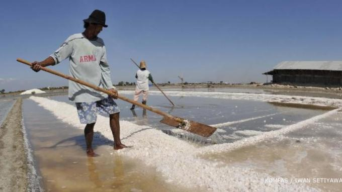 Kualitas Garam Malaka Memenuhi Syarat Jadi Garam Industri