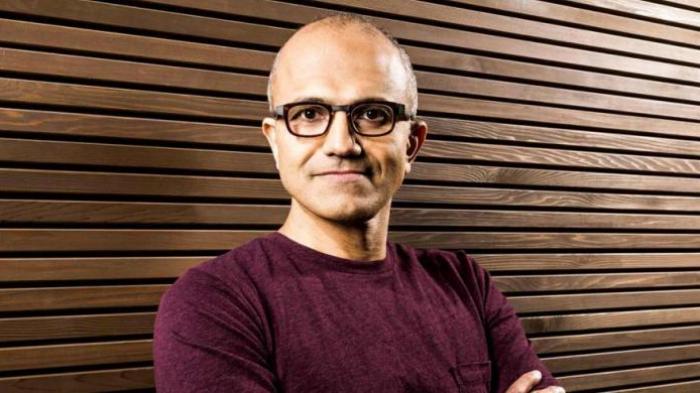 CEO Microsoft, Satya Nadella.