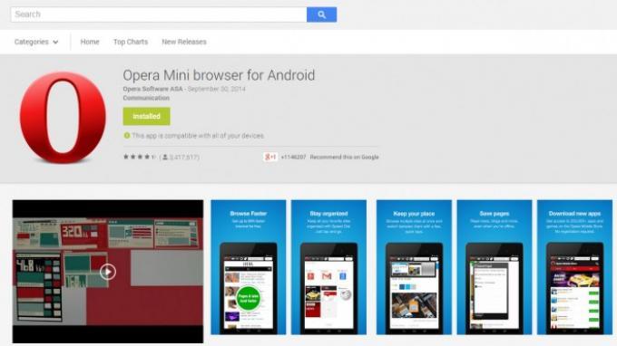 Opera Mini dengan Ad Blocker Turunkan Pemakaian Data