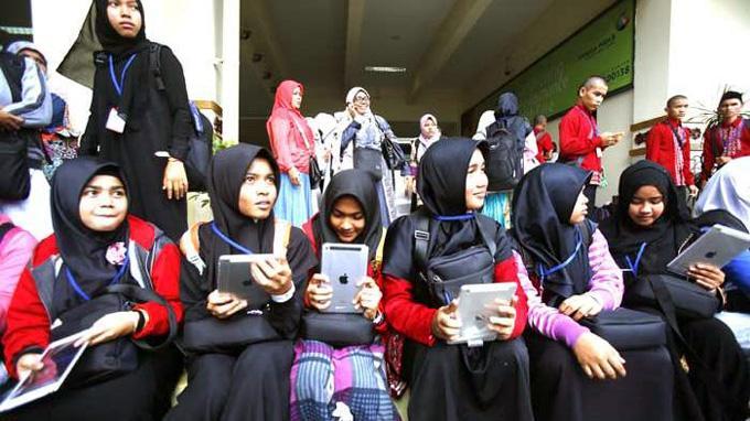105 Anak Yatim Aceh Dihajikan dan Dihadiahi Ipad dari Raja Arab Saudi