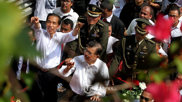 Jokowi Terima Kunjungan Menlu AS di Istana Merdeka