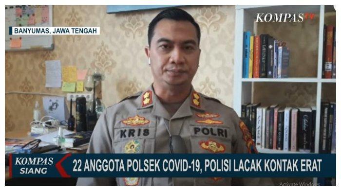 22 Anggota Polsek Cilongok Banyumas Lakukan Isolasi Mandiri karena Positif Covid-19