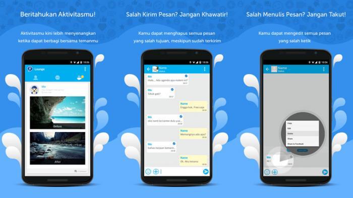 Litebig Aplikasi Chatting Buatan Mahasiswa Ugm Yang Kaya Fitur Tribunnews Com Mobile