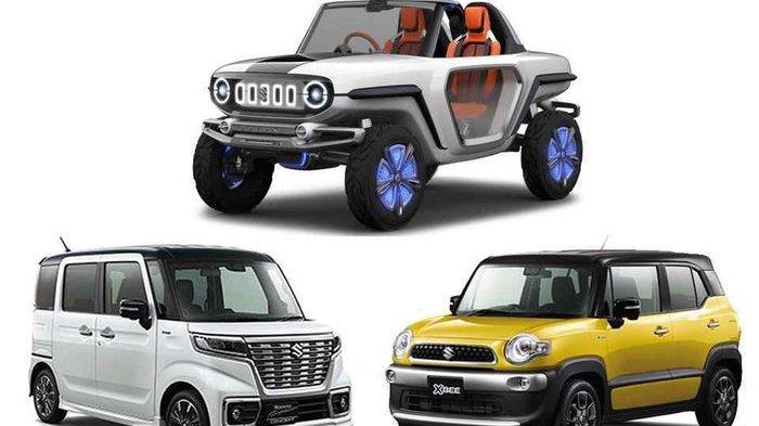 Sementara Ini Tiga Mobil Konsep Suzuki Fokus di Pasar Jepang