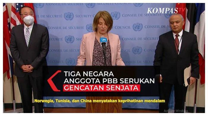 Norwegia, China, dan Tunisia Sepakat Minta Israel dan Hamas untuk Segera Hentikan Konflik