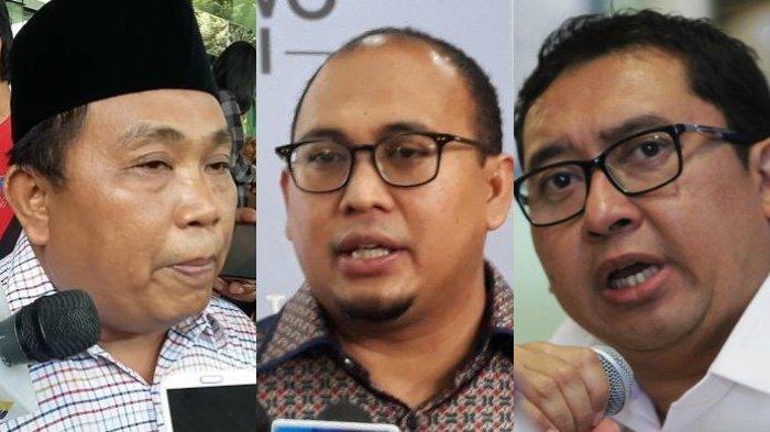 Arief Poyuono, Andre Rosiade, dan Fadli Zon Tidak Ditunjuk Jadi Jubir Gerindra, Ini Penjelasanya