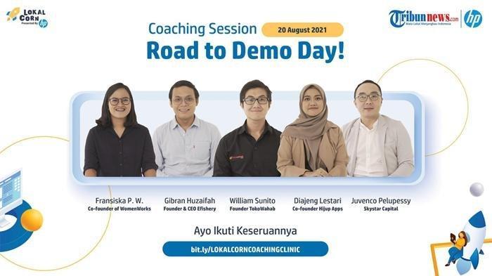 30 Startup Terpilih Masuki Babak Baru, LokalCorn Gelar Coaching Clinic bareng Expert