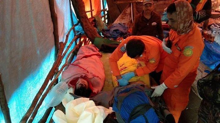 Empat Pendaki Dihantam Badai di Puncak Gunung Marapi, Seperti Ini Kondisinya Saat Ditemukan Basarnas