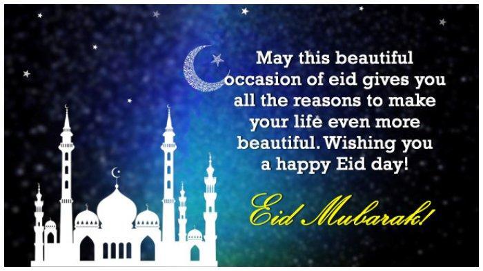40 Ucapan Selamat Hari Raya Idul Fitri Bahasa Inggris Cocok Untuk Whatsapp Facebook Instagram Halaman All Tribunnews Com