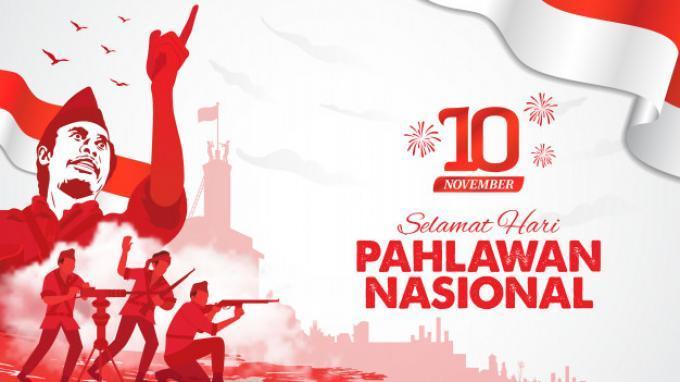 40 Ucapan Selamat Hari Pahlawan 10 November Dilengkapi Gambar Bagikan Di Wa Ig Fb Twitter Tribunnews Com Mobile