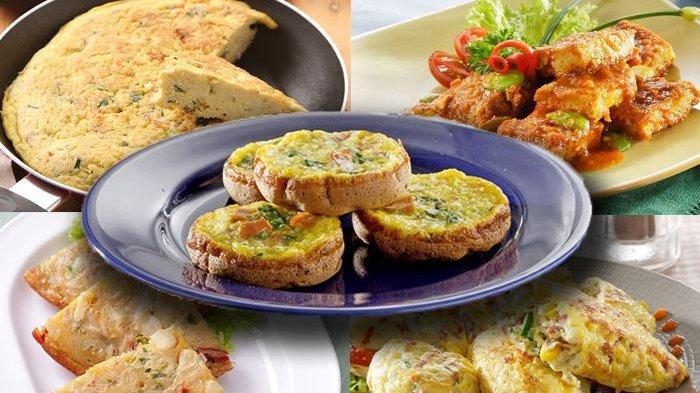 5 Aneka Resep Telur Dadar Enak dan Mudah Dibuat, Simak Resep & Cara Membuatnya