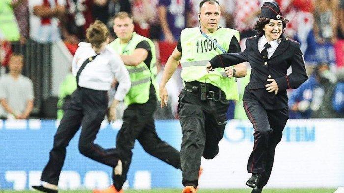 Fakta Penyusup Laga Final Piala Dunia 2018, dari Kronologi, Identitas, hingga Tuntutan Mereka
