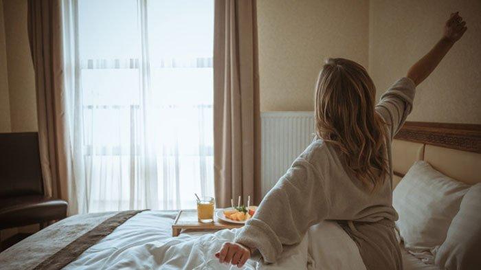 ilustrasi bangun pagi