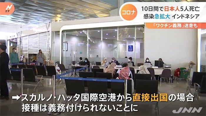 10 Hari Terakhir 5 Warga Negara Jepang Meninggal di Indonesia akibat Covid-19